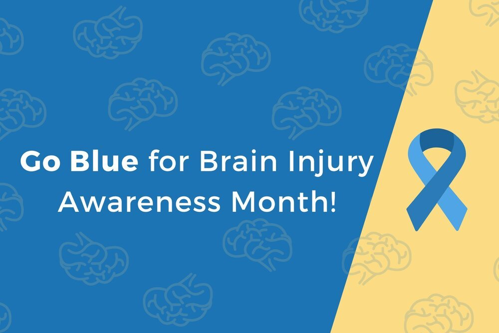 Go Blue for Brain Injury Awareness Month