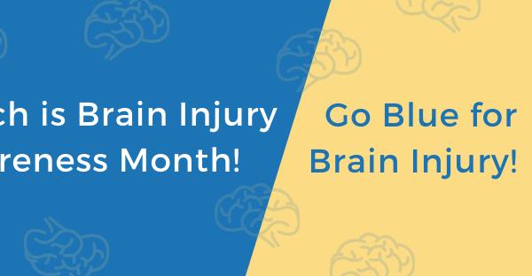 Go Blue for Brain Injury Awareness